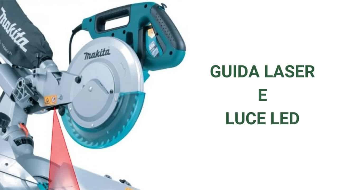 Makita LS1018L con guida laser e luce led